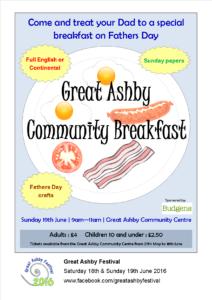 Great Ashby Community Breakfast
